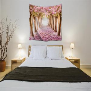 Fallen Flowers 3D Printing Home Wall Hanging Tapestry for Decoration -