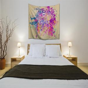 Dream White Elephant 3D Printing Home Wall Hanging Tapestry for Decoration -