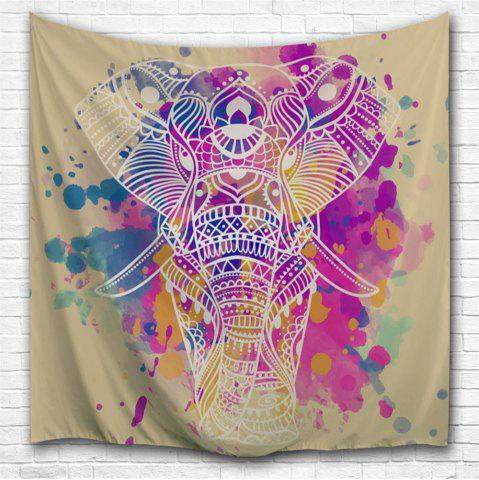 Affordable Dream White Elephant 3D Printing Home Wall Hanging Tapestry for Decoration