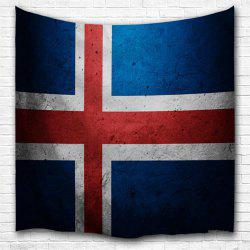 Cross Flag 3D Printing Home Wall Hanging Tapestry for Decoration -