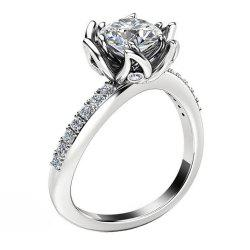 Bague Fleur Ringer Diamond Couple -