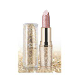 6 couleurs Shimmer Lipstick Shining durable à long terme -