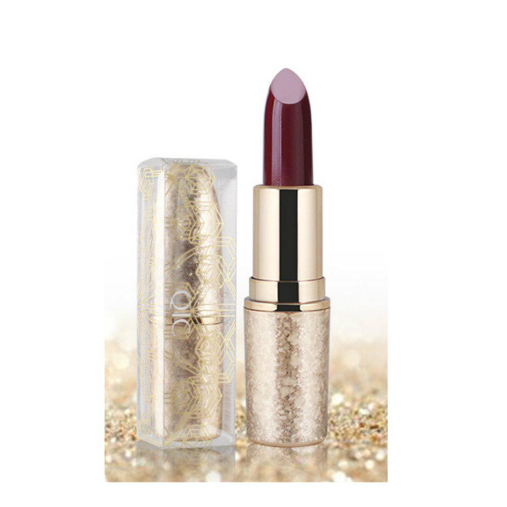6 couleurs Shimmer Lipstick Shining durable à long terme