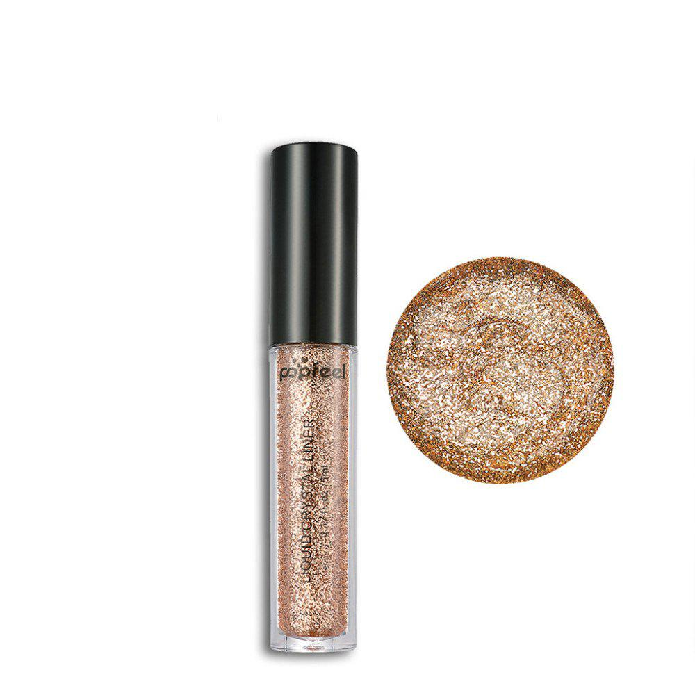 Outfit Popfeel Diamond Pearl Eyeshadow Powder Brightening  Long-Lasting