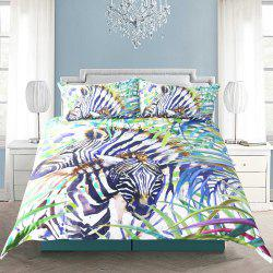 Housse de couette animal sauvage Literie set digital print 3pcs -