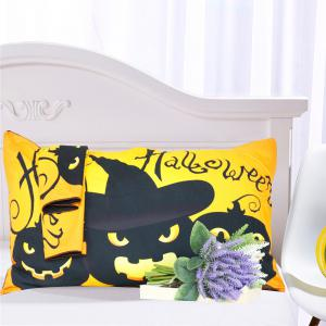 Happy Halloween Tree Kids Bedding  Duvet Cover Set Digital Print 3pcs -