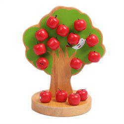 Wooden Baby Puzzle Toy Magnetic Fruit Tree -