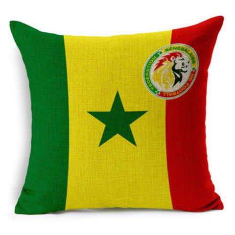 Store Home Decor Cushion Cover Soccer Pillow Cover