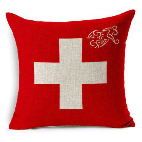 Cheap Home Decor Cushion Cover Soccer Pillow Cover