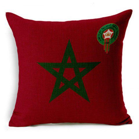 Discount Home Decor Cushion Cover Soccer Pillow Cover