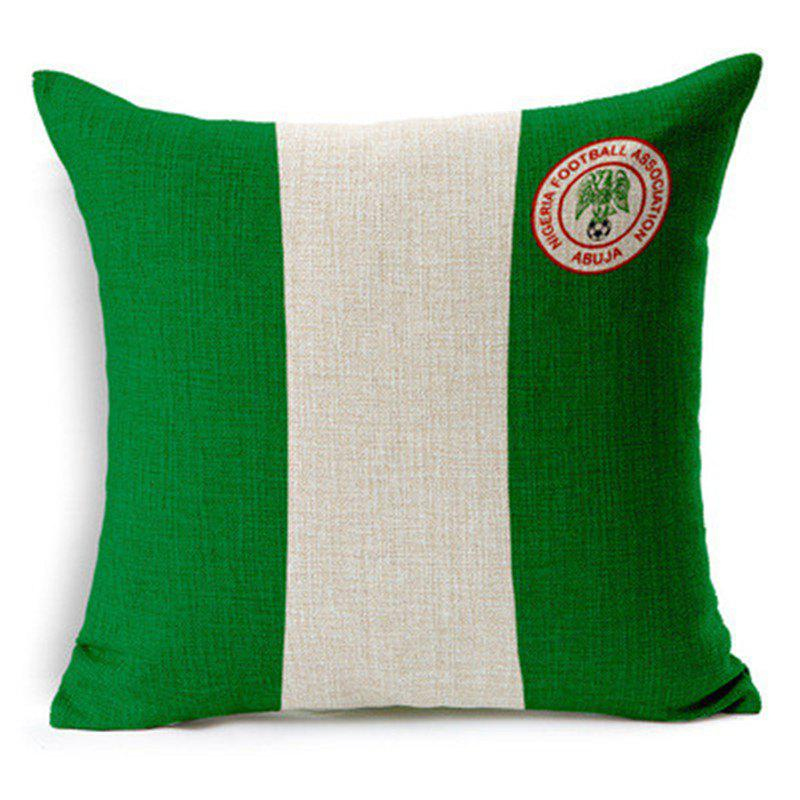New Home Decor Cushion Cover Soccer Pillow Cover