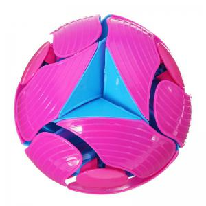 10CM Eco-friendly Colorful Plastic Ball Novel Decompression Toys -