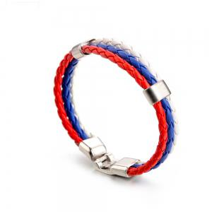 National Flag Woven Bracelet of The Accessories -