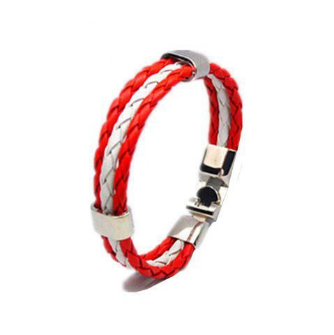 Shops National Flag Woven Bracelet of The Accessories