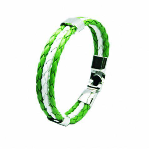Buy National Flag Woven Bracelet of The Accessories