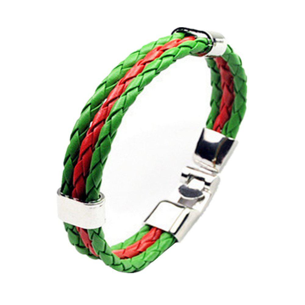 Best National Flag Woven Bracelet of The Accessories