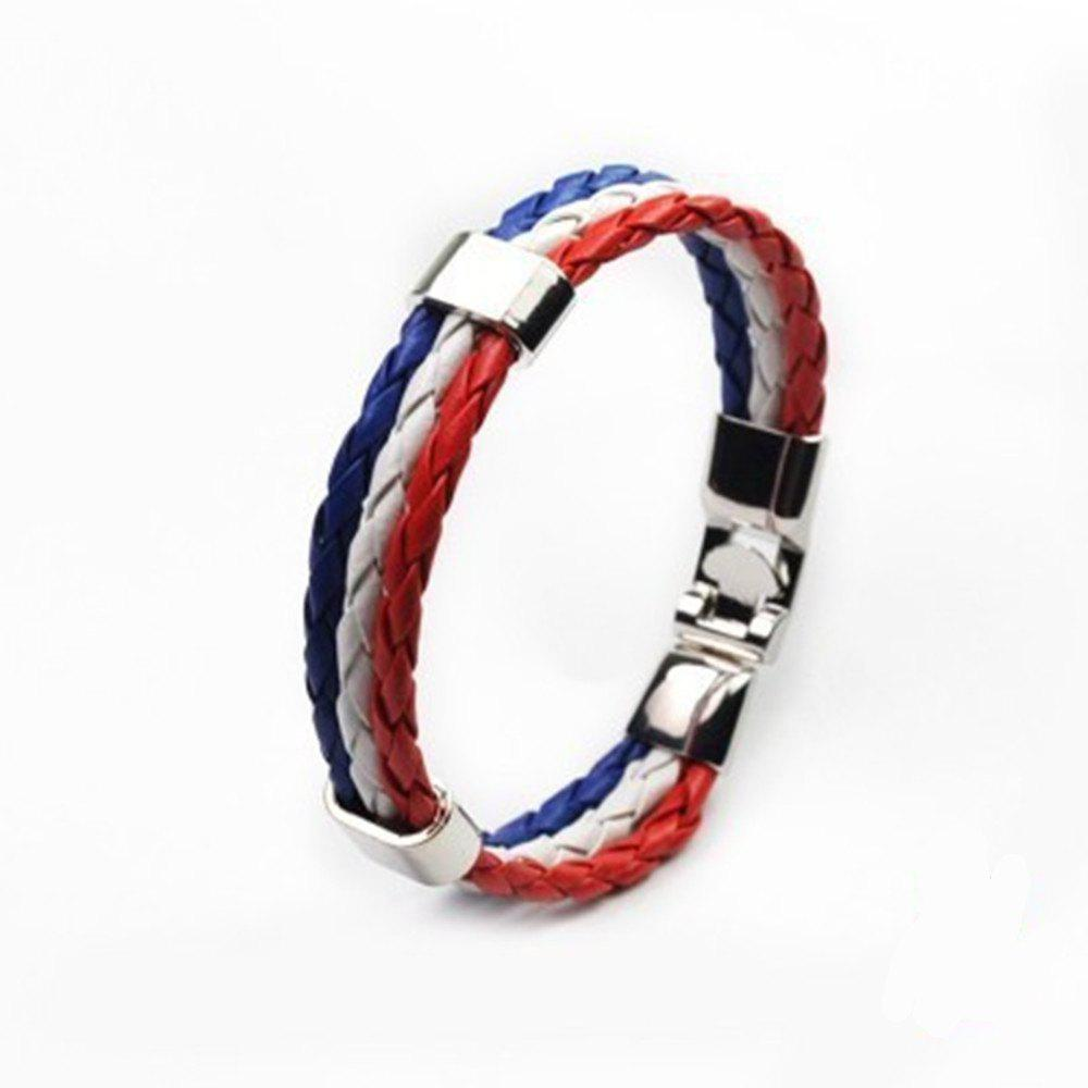 Store National Flag Woven Bracelet of The Accessories