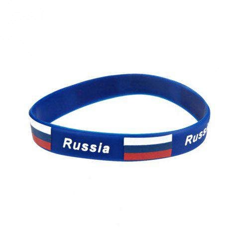 Shop Creative Multi-Function Flag Bracelet Fan Supplies