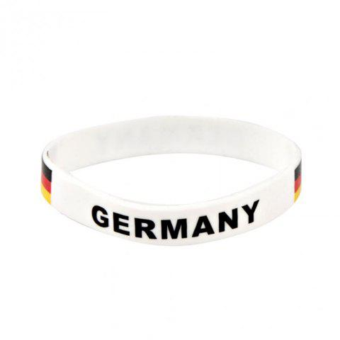 Chic Creative Multi-Function Flag Bracelet Fan Supplies