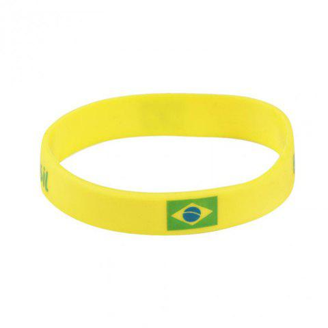 Affordable Creative Multi-Function Flag Bracelet Fan Supplies