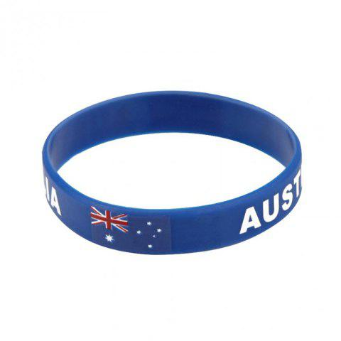 Trendy Creative Fashion Multi-Function Flag Bracelet Fan Supplies