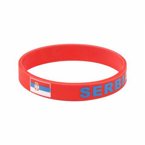 Unique Creative Fashion Multi-Function Flag Bracelet Fan Supplies