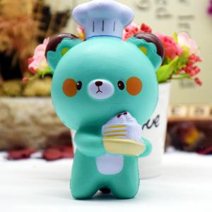 Jumbo Squishy Cartoon chef ours ornements 1PC -