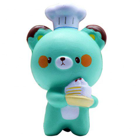 Jumbo Squishy Cartoon chef ours ornements 1PC