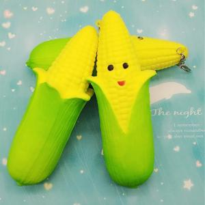 Jumbo Squishy Simulation Expression Corn Stick Pendant 1PC -