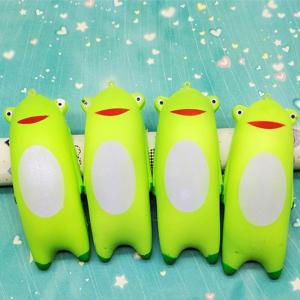 Jumbo Squishy Cute Green Frog Hand Pillow -
