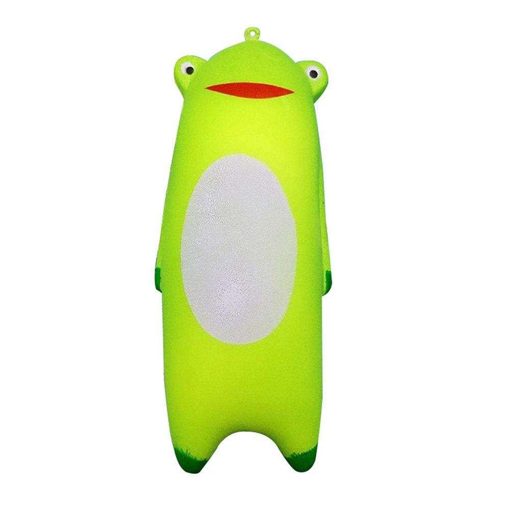 Latest Jumbo Squishy Cute Green Frog Hand Pillow