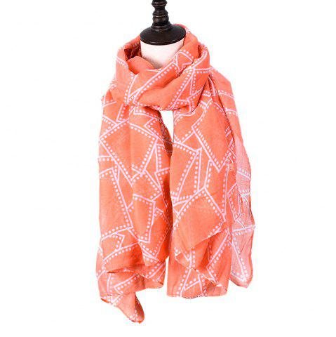 Discount Ladies Decorative Plaid Printed Viscose Scarf