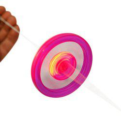 Kids Pull Rope Flywheel LED Flashing Flywheel Toy -