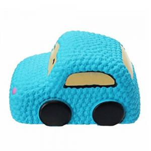 Car Cake Jumbo Squishy Slow Rising Cartoon Doll Squeeze Toy Collectibles -