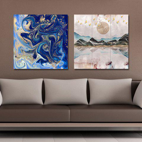 Online 41XDZS - 30-58 2PCS Abstract Scenery of Fashion Print Art