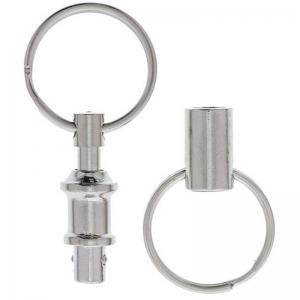 2PCS Outdoor Double Side Detachable Key Ring -