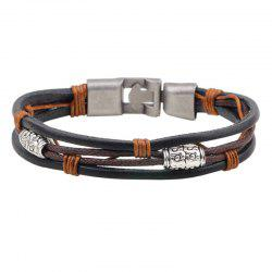 Personal Leather Bracelet 0125 Personal Gift Jewellery -