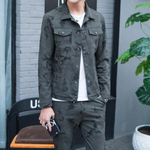 Men's Outdoor Sports Camouflage Suit for Casual Wear -