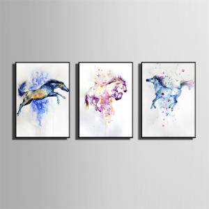 Special Design Frame Paintings Jump Print 3PCS -