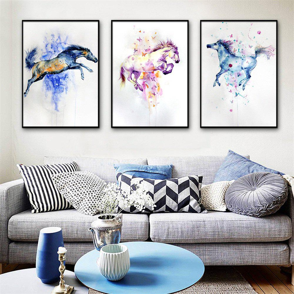 Trendy Special Design Frame Paintings Jump Print 3PCS