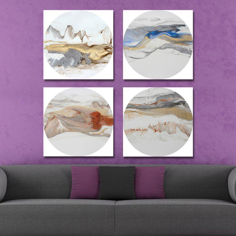 Affordable 41XDZS - 151-159-160-162 4PCS Chinese Abstract Scenery Print Art