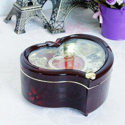 Creative Gift Love Girl Dance Revolving Music Box -