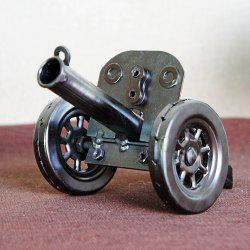 Metal Textured and Handmade Artillery Model -