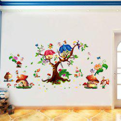 3D Cartoon Wall Stickers Creative New Flower Decoration -