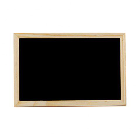 Outfits Creative Crafts Wooden Frame Blackboard Writing and Decorating