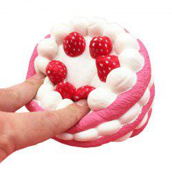 Jumbo Squishy Slow Rising Soulagement du stress Strawberry Cake -