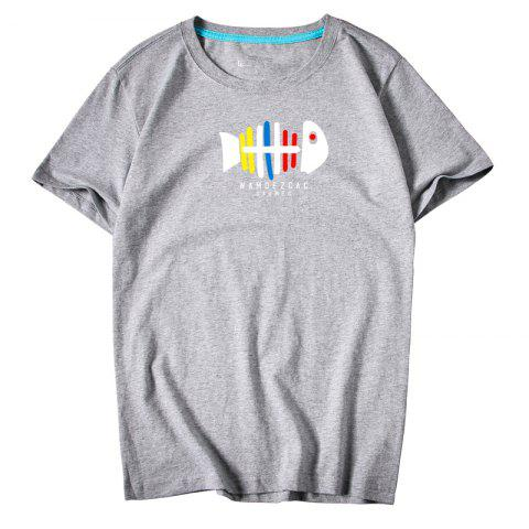 Trendy Men's Youth All-Match Simple Sports Leisure T-Shirt