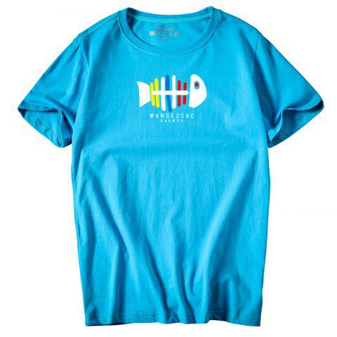 Buy Men's Youth All-Match Simple Sports Leisure T-Shirt