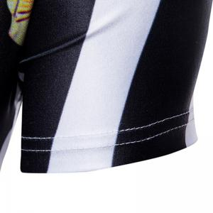 Men's Summer Retro Striped Printed T-Shirt -