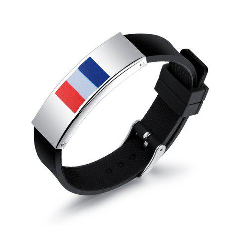 Trendy 2018 Russia National Flags Fans Bracelets